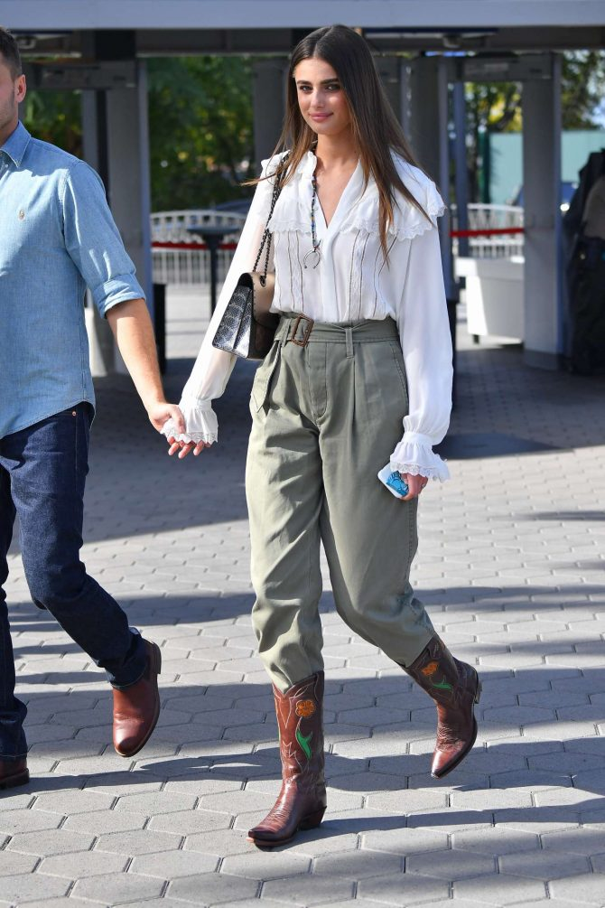 Taylor Hill with Michael Stephen Shank out in Los Angeles -01
