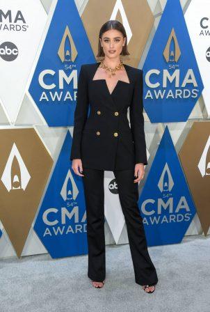 Taylor Marie Hill -2020 CMA Awards in Nashville