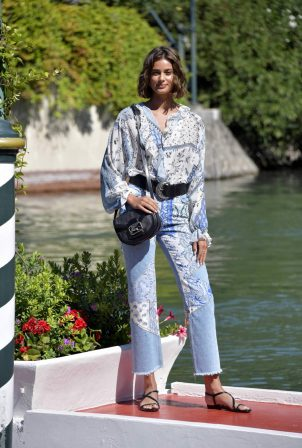 Taylor Marie Hill - Arrives at Lido at the Venice Film Festival