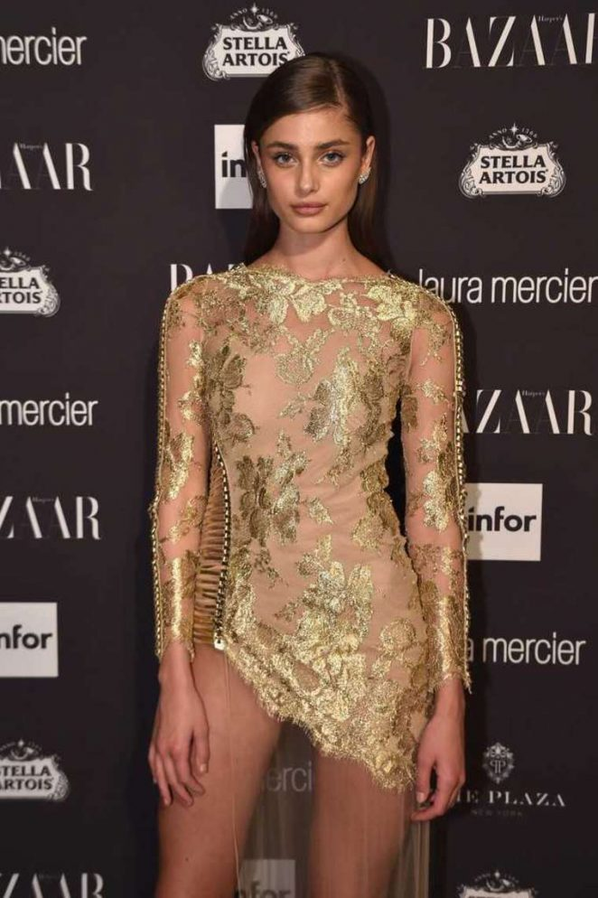 Taylor Marie Hill - Harpers Bazaar Icons Party 2016 in NYC