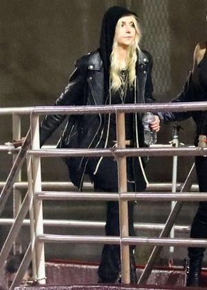 Taylor Momsen - Arrives at Chris Cornell Tribute Concert in Inglewood