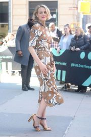 Taylor Schilling - Arrives at Build Series Studio in New York