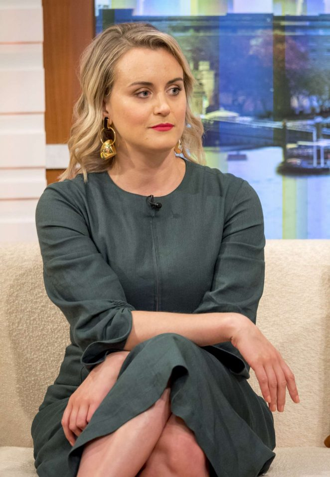 Taylor Schilling at 'Good Morning Britain' TV Show in London