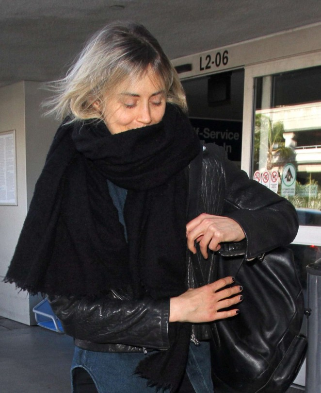 Taylor Schilling at LAX Airport in Los Angeles