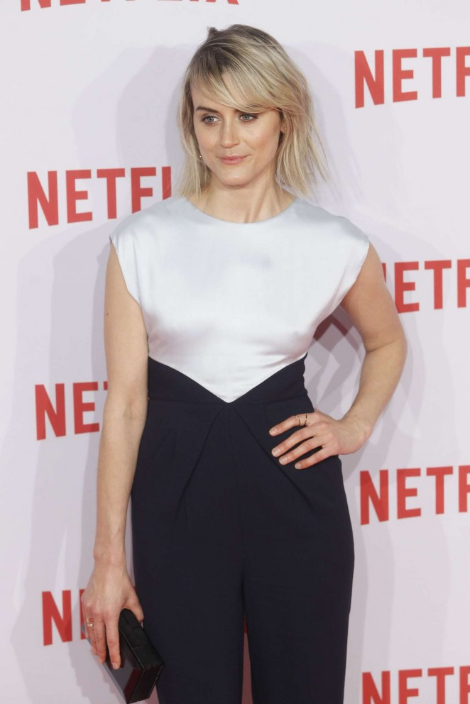 Taylor Schilling – Netflix Presentation in Madrid