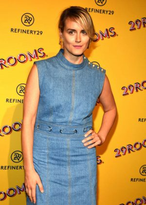 Taylor Schilling - Refinery29's 29Rooms Chicago: Turn It Into Art Opening Party