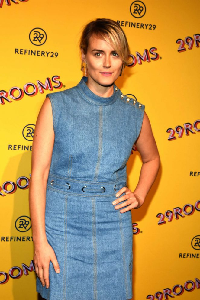 Taylor Schilling – Refinery29's 29Rooms Chicago: Turn It Into Art Opening Party