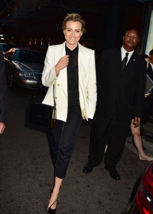 Taylor Schilling - 'TimesTalks - Orange Is The New Black' in NYC