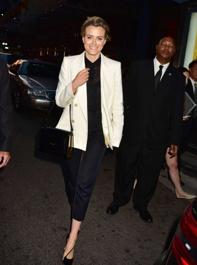 Taylor Schilling – 'TimesTalks – Orange Is The New Black' in NYC