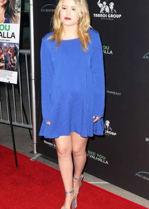Taylor Spreitler - 'See You In Valhalla' Premiere in Hollywood