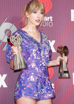 Taylor Swift - 2019 iHeartRadio Music Awards in Los Angeles