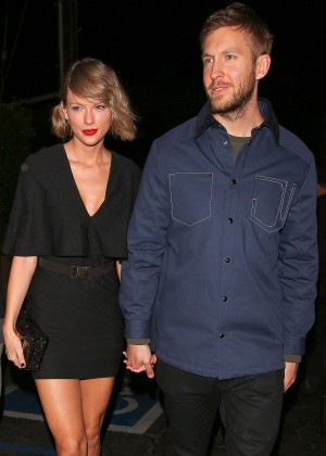 Taylor Swift and Calvin Harris out in Santa Monica