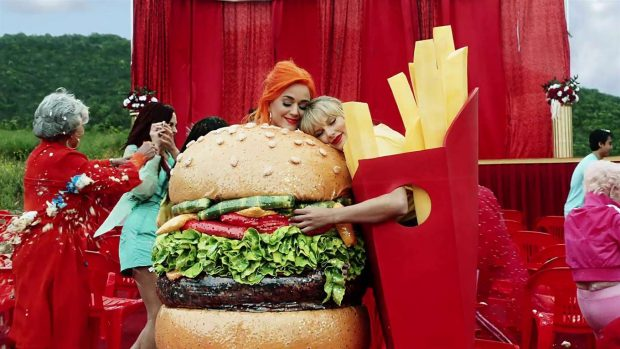 Katy Perry 2019 : Taylor Swift and Katy Perry in Taylors latest music video You Need to Calm Down-04