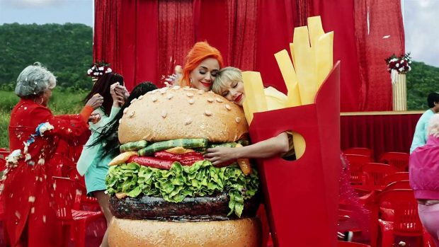 Katy Perry 2019 : Taylor Swift and Katy Perry in Taylors latest music video You Need to Calm Down-05