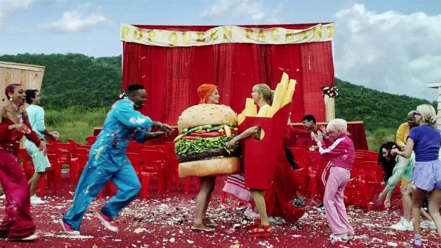 Katy Perry 2019 : Taylor Swift and Katy Perry in Taylors latest music video You Need to Calm Down-06