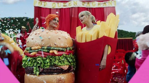 Katy Perry 2019 : Taylor Swift and Katy Perry in Taylors latest music video You Need to Calm Down-11