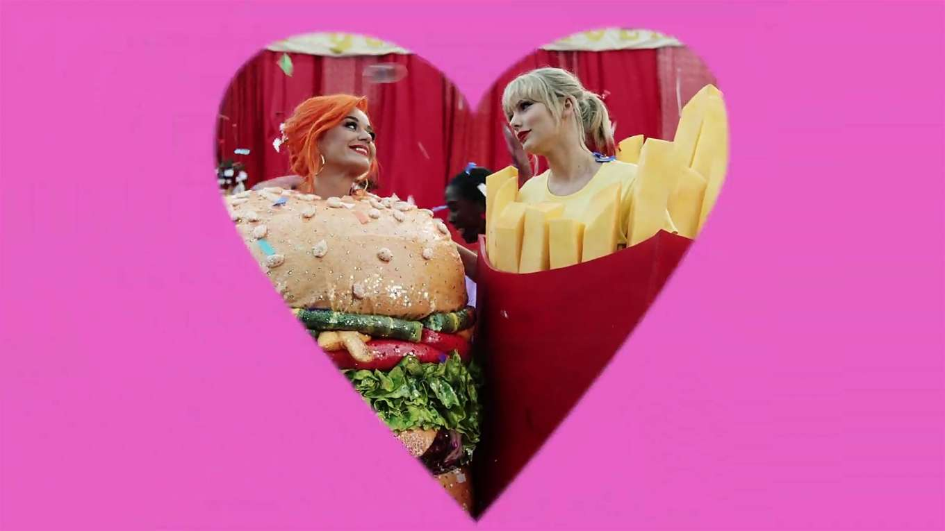 Katy Perry 2019 : Taylor Swift and Katy Perry in Taylors latest music video You Need to Calm Down-13