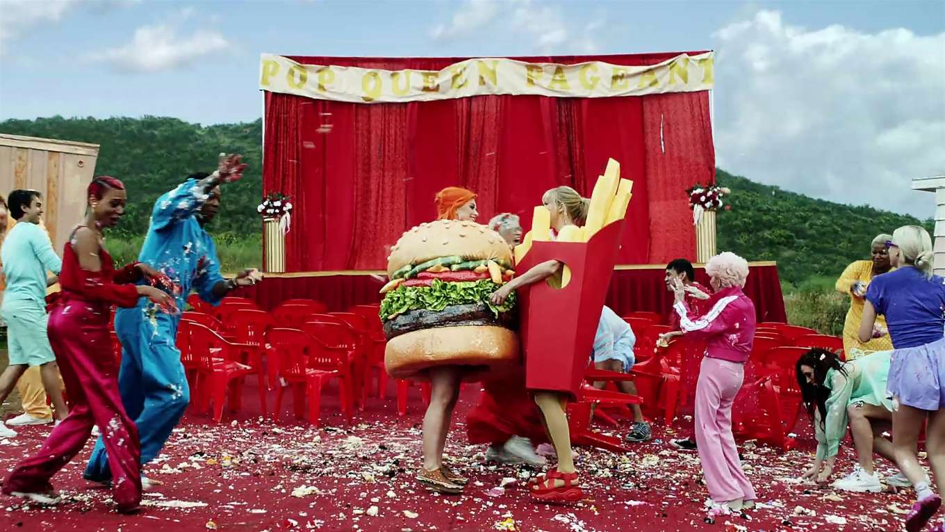 Katy Perry 2019 : Taylor Swift and Katy Perry in Taylors latest music video You Need to Calm Down-18