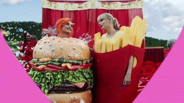Katy Perry 2019 : Taylor Swift and Katy Perry in Taylors latest music video You Need to Calm Down-19