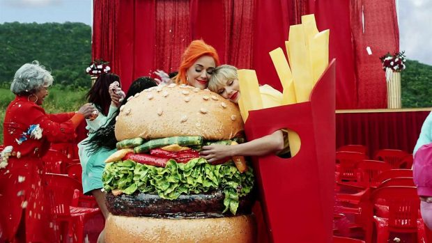 Katy Perry 2019 : Taylor Swift and Katy Perry in Taylors latest music video You Need to Calm Down-20