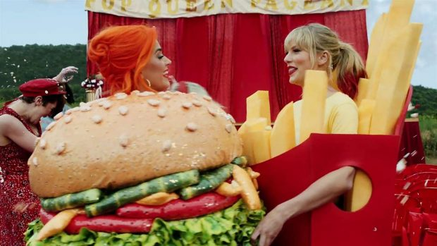 Katy Perry 2019 : Taylor Swift and Katy Perry in Taylors latest music video You Need to Calm Down-21