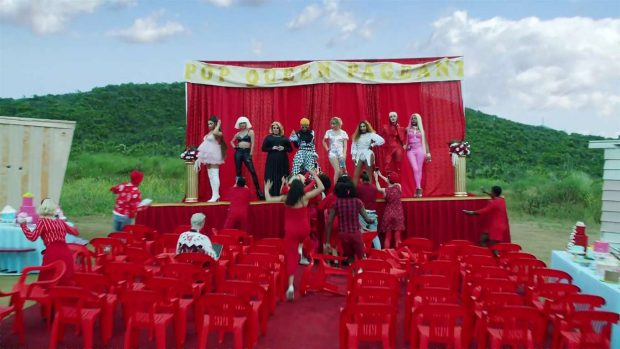 Katy Perry 2019 : Taylor Swift and Katy Perry in Taylors latest music video You Need to Calm Down-34