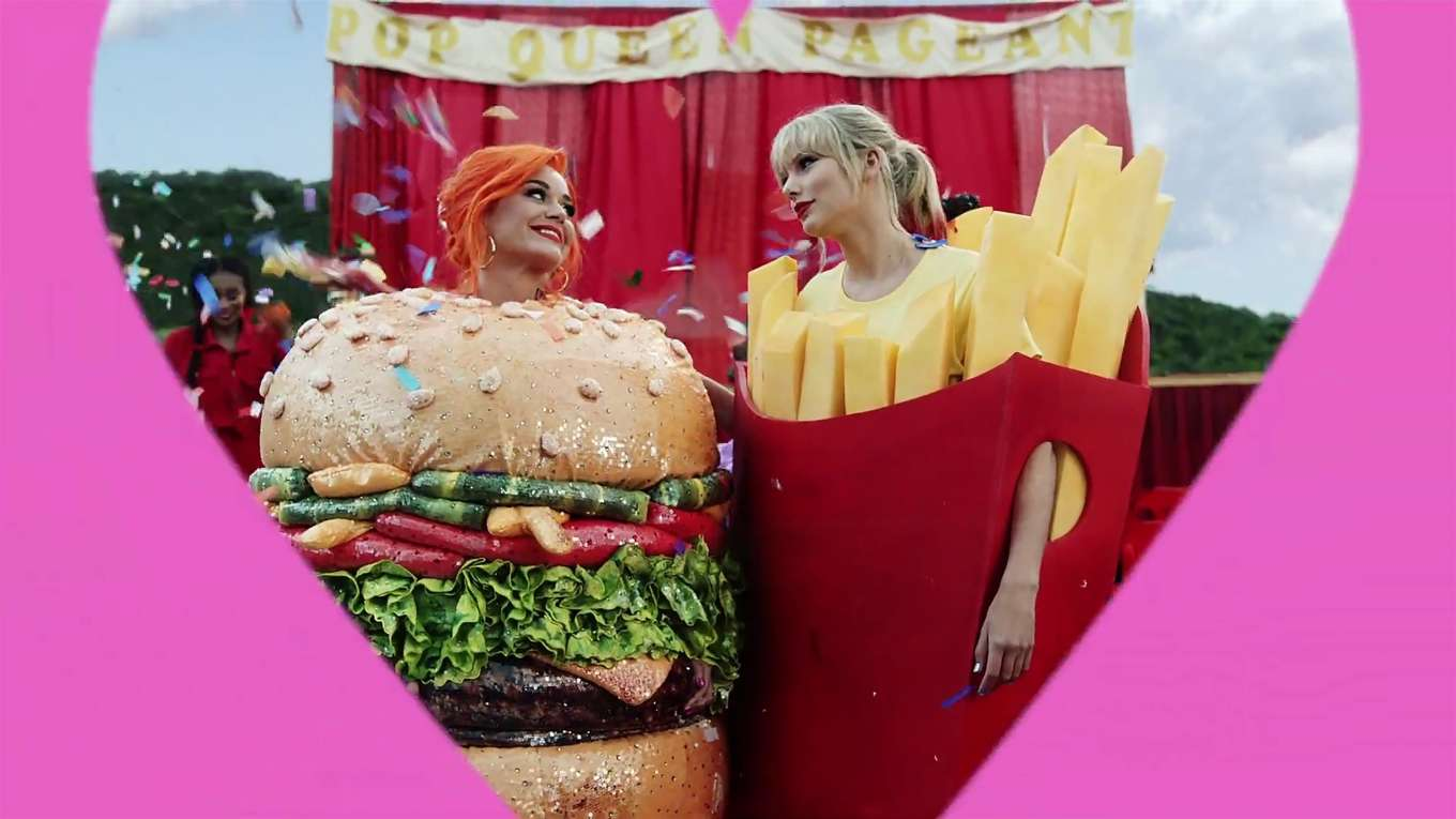 Katy Perry 2019 : Taylor Swift and Katy Perry in Taylors latest music video You Need to Calm Down-40