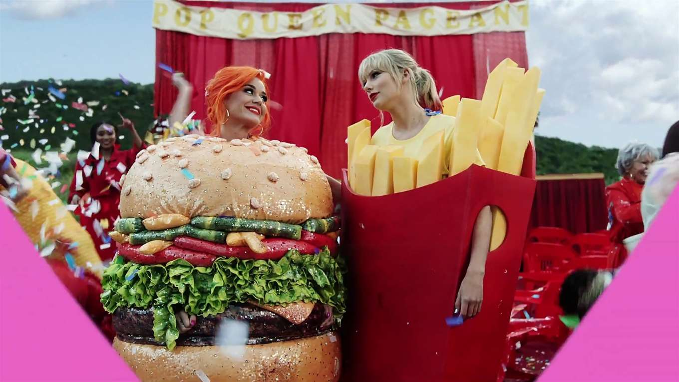 Katy Perry 2019 : Taylor Swift and Katy Perry in Taylors latest music video You Need to Calm Down-42