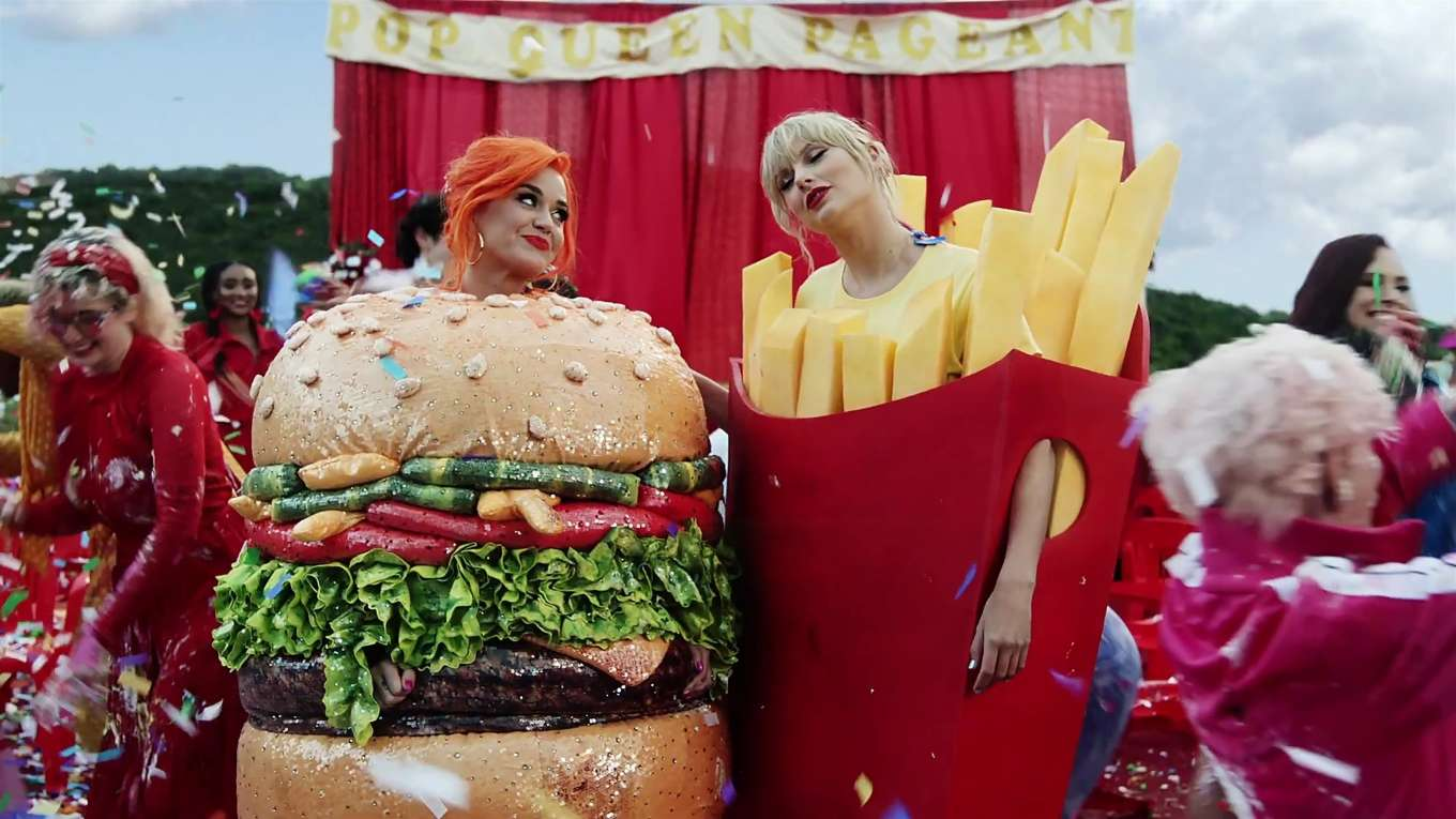 Katy Perry 2019 : Taylor Swift and Katy Perry in Taylors latest music video You Need to Calm Down-46