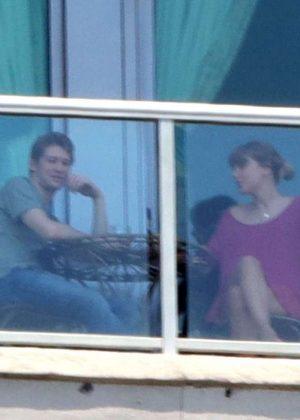 Taylor Swift and new boyfriend Joe Alwyn out in Nashville