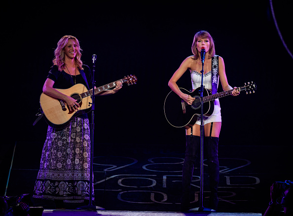 Taylor Swift and Selena Gomez: Performs in Los Angeles -03
