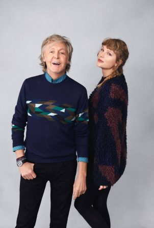 Taylor Swift and Sir Paul McCartney - Rolling Stone Magazine (November 2020)