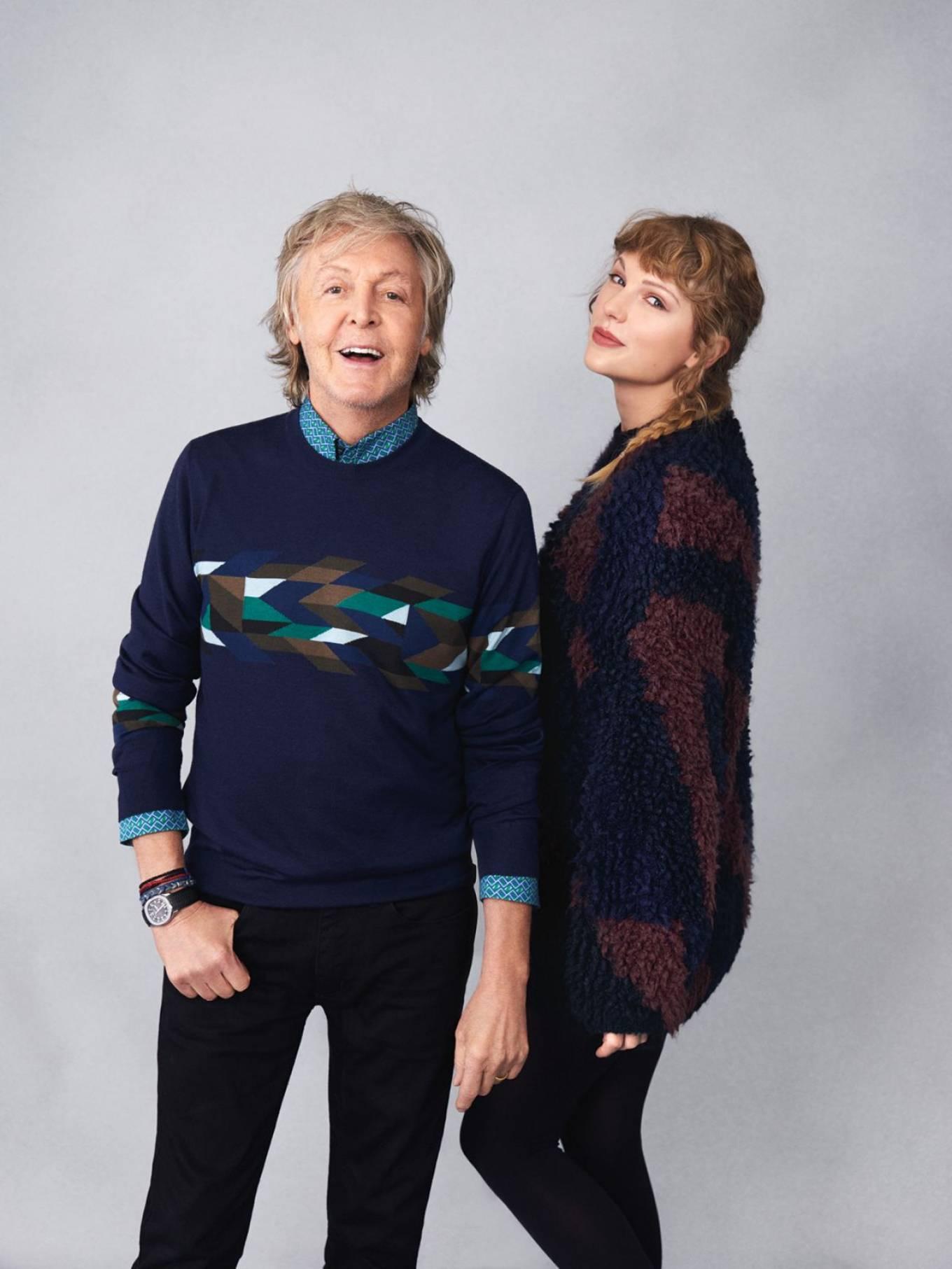 Taylor Swift and Sir Paul McCartney - Rolling Stone Magazine (November 2020)