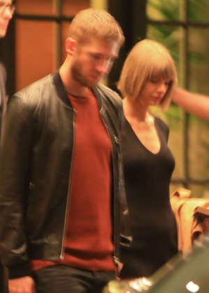 Taylor Swift at Beverly Wilshire Hotel in Beverly Hills