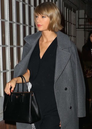 Taylor Swift at Blue Ribbon in New York City