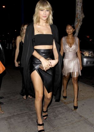 Taylor Swift at Drake's 30th Birthday Party in LA