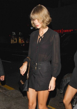 Taylor Swift at Reese Witherspoon's 40th Birthday Party in Los Angeles