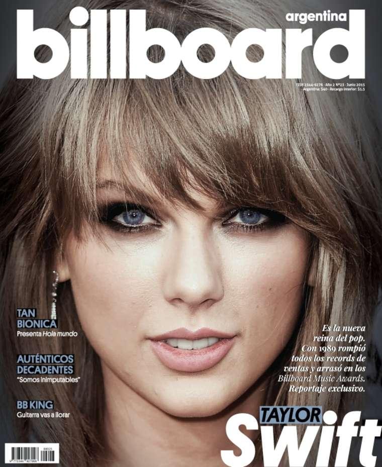 Taylor Swift Billboard Argentina Magazine Cover June 2015 Gotceleb