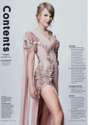 Taylor Swift - Billboard Magazine (June 2018)