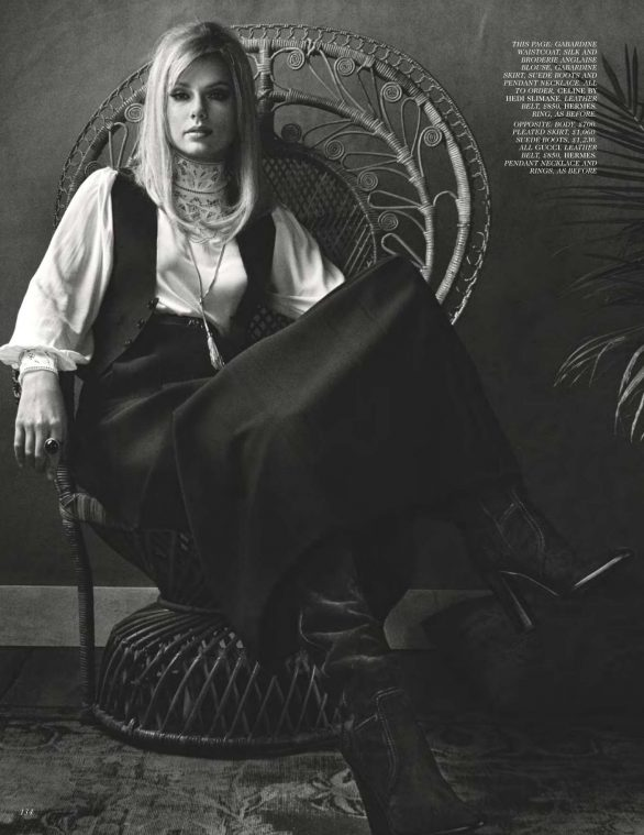 Taylor Swift - British Vogue Magazine (January 2020) adds