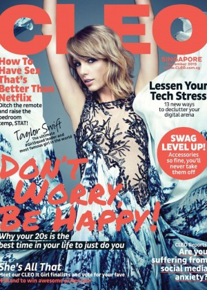 Taylor Swift - Cleo Magazine Cover (November 2015)