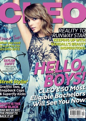 Taylor Swift - CLEO Malaysia Cover (April 2015)