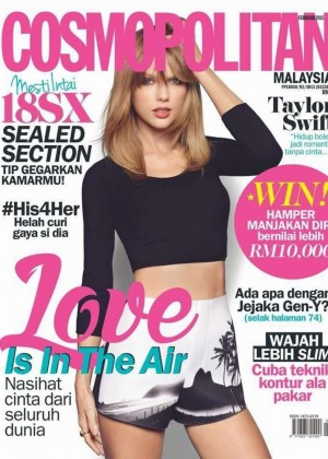Taylor Swift - Cosmopolitan Malaysia Cover Magazine (February 2015)