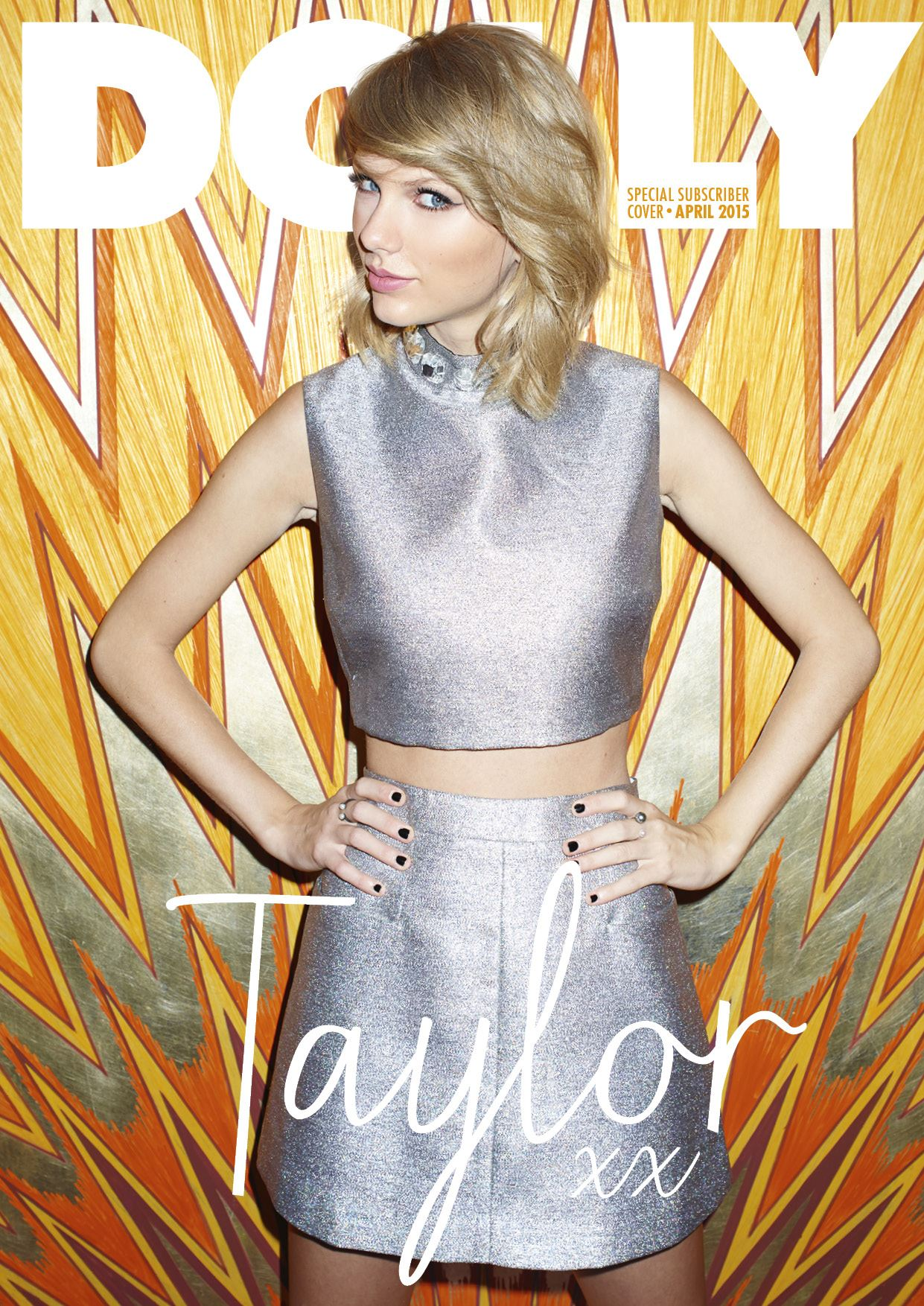 Taylor Swift - Dolly Magazine Cover (April 2015)
