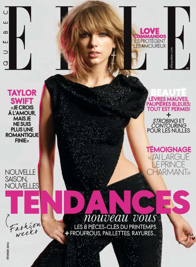 Taylor Swift - Elle Quebec Magazine (February 2016)