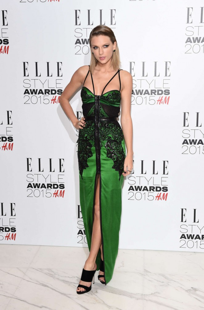 Taylor Swift – Elle Style Awards 2015 in London