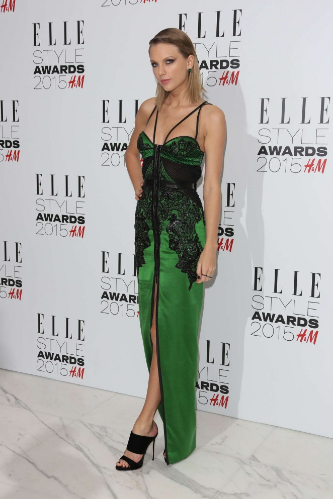 Taylor Swift Elle Style Awards 2015 07 Gotceleb