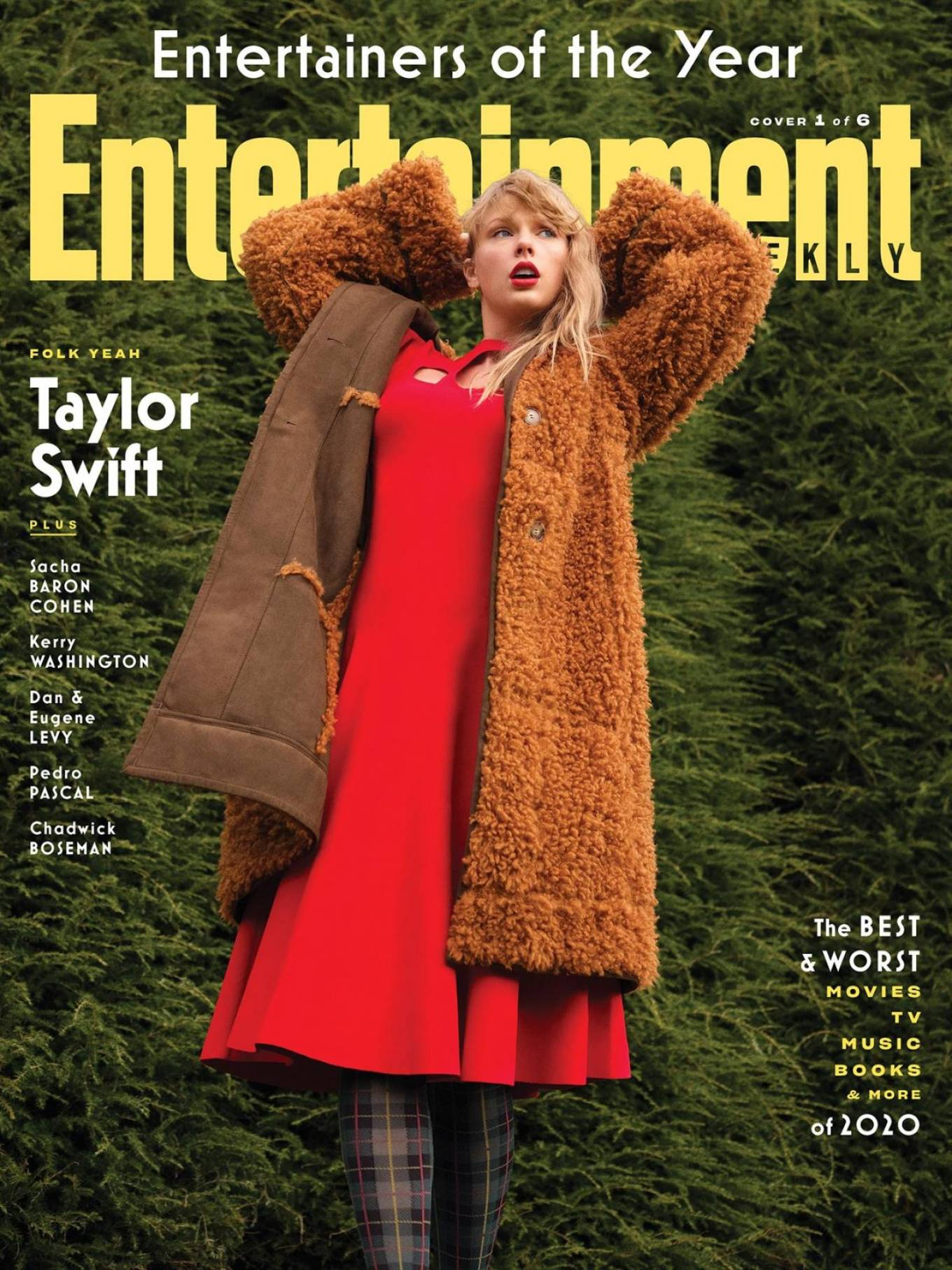 Taylor Swift - Entertainment Weekly (December 2020)