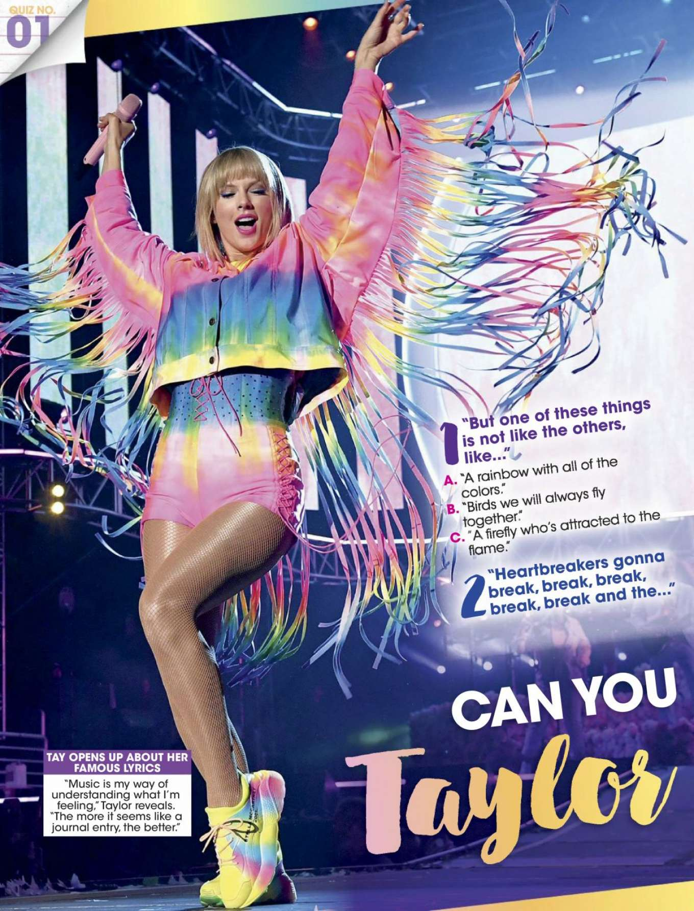 Taylor Swift - Entertainment Weekly - September 2019