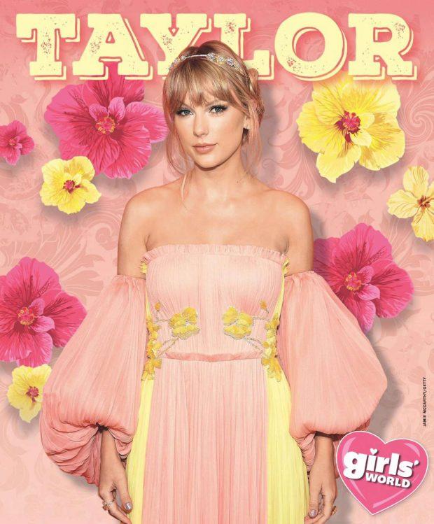 Taylor Swift - Girls' World Magazine (August 2019)
